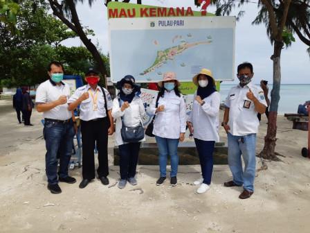 Pelaku Jasa Wisata Kepulauan Seribu Disosialisasikan Penerapan PSBB Ketat