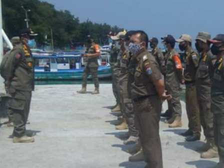 Satpol PP Commits to Maintain Conducive Community Protection in Thousand Islands