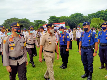 1,500 Joint Personnel to Secure Christmas and New Year Celebration in East Jakarta