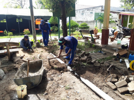 New Water Channel Built in Lancang Island Public Cemetery