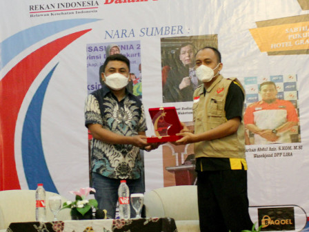 Rekan Indonesia Gives Award to Beritajakarta.id