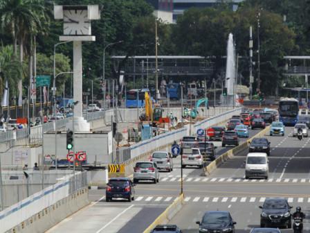 Ini Rekayasa Lalin Sehubungan Pembangunan MRT Fase II