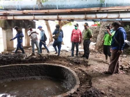 End of this January, Arrangement Work Under Pegangsaan Bridge Completed