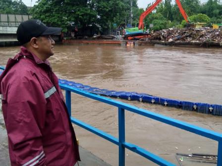 Manggarai Sluice Gate is in Alert 2 Status