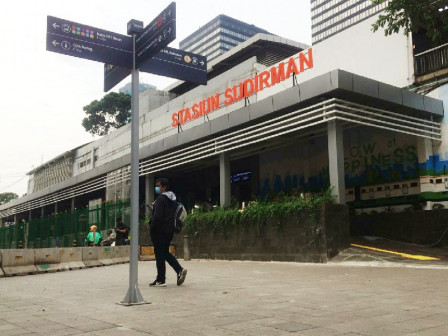Residents Welcome Makeover of Four Commuter Line Stations in Jakarta