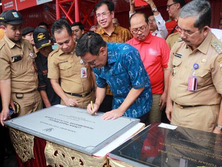 Plt Gubernur Resmikan Loksem JP 34 Dan Lokbin Pasar Minggu