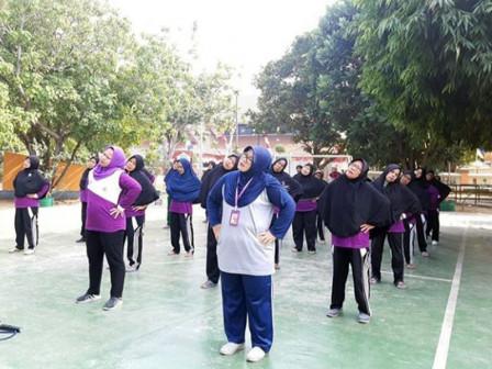 FORST Cabang Senam Tingkat Kota di Jakut Digelar 21 November