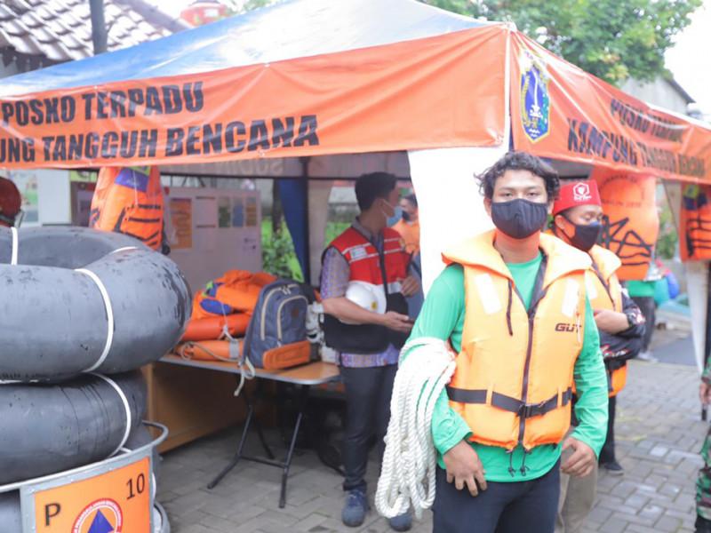 Kesiapan tim Kampung Tangguh Bencana