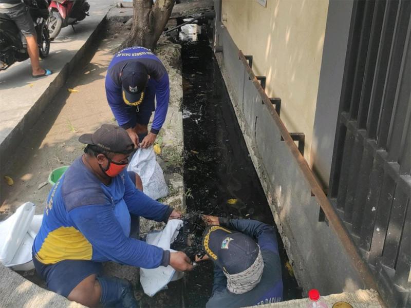 Pengurasan Saluran Jl. Manggar RW 03 Kec. Koja, Jakarta Utara