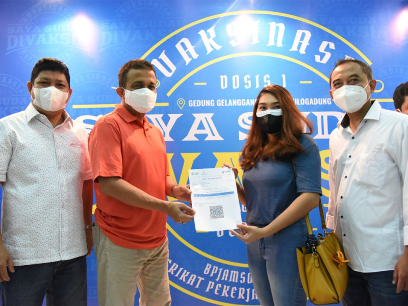 Kolaborasi Vaksinisasi di Jakarta Timur