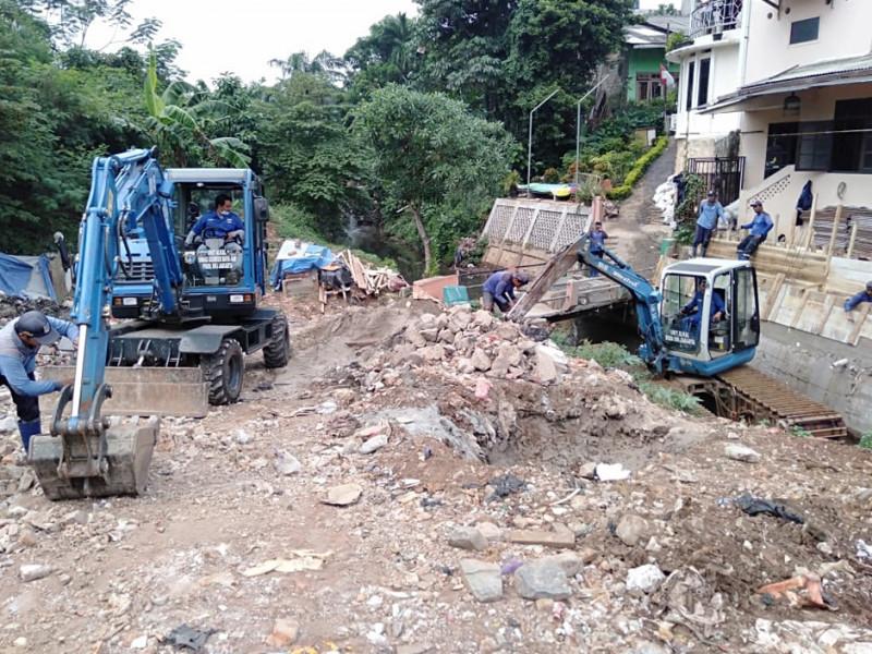 Normalisasi Kali Serua Jakarta Selatan