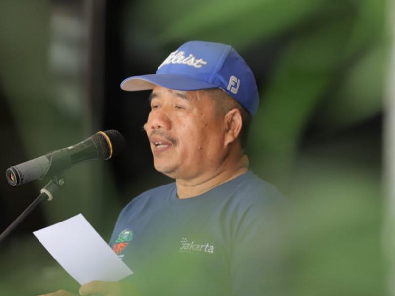 Sambutan dari Sekretaris Kota Administrasi Jakarta Timur, Usmayadi