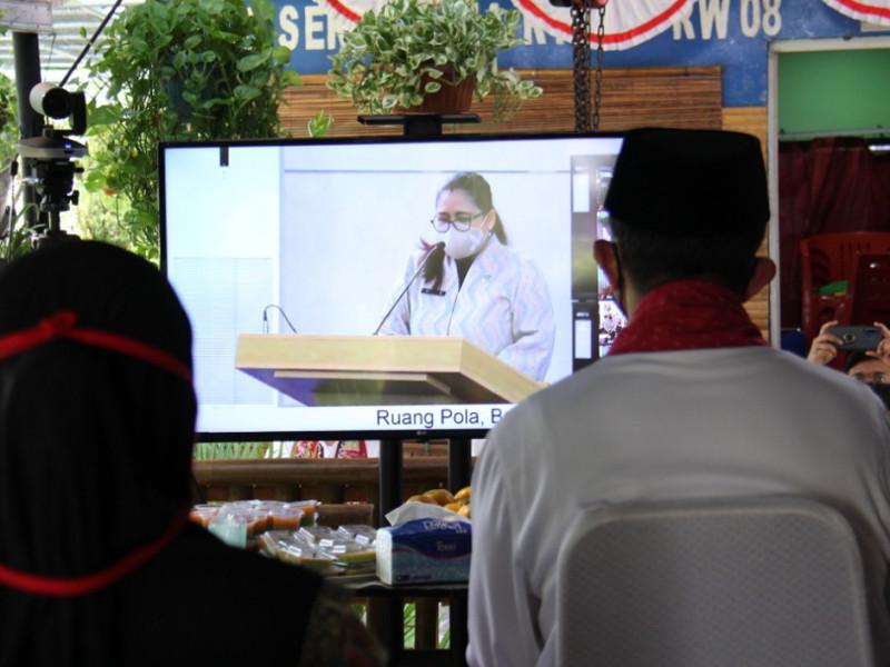 Peluncuran serentak dengan arahan dari Balai Kota bersama Gubernur DKI Jakarta dan Kadis Kominfotik DKI Jakarta