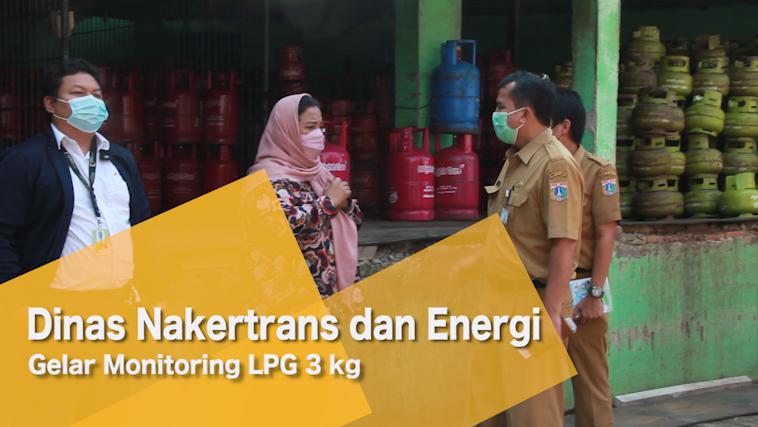 Dinas Nakertrans dan Energi Gelar Monitoring LPG 3 kg