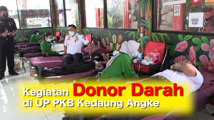 Kegiatan Donor Darah di UP PKB Kedaung Angke