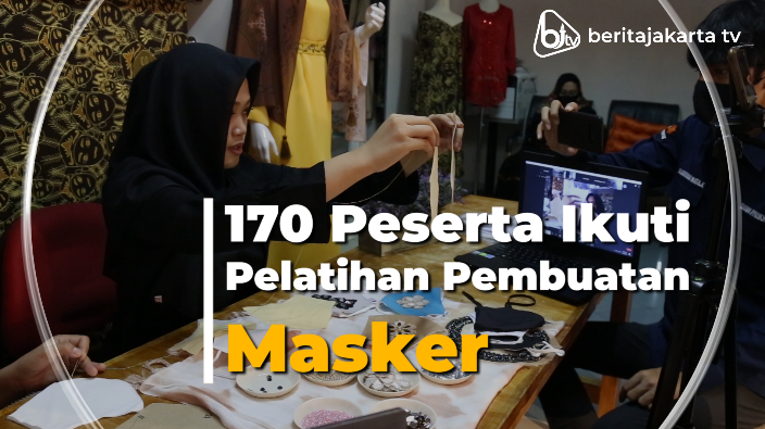 170 Peserta Ikuti Pelatihan Pembuatan Masker
