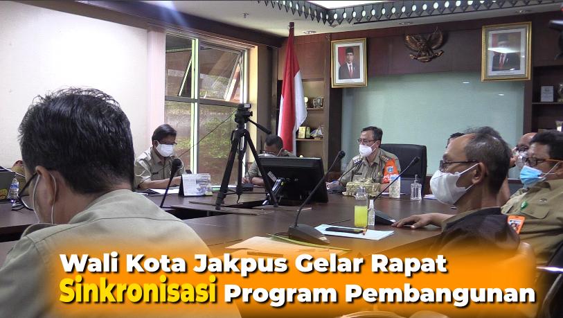 Wali Kota Jakpus Gelar Rapat Sinkronisasi Program Pembangunan