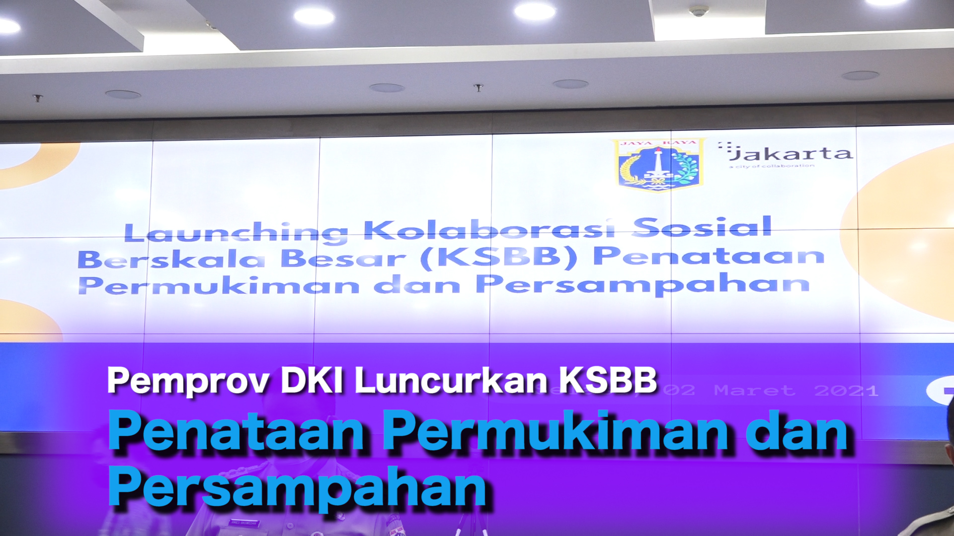 Pemprov DKI Luncurkan KSBB Penataan Permukiman dan Persampahan